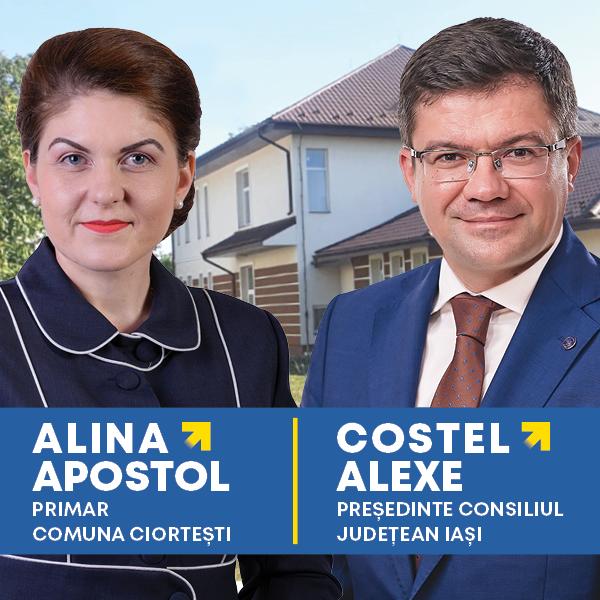 Alina Apostol, primar comuna Ciortești