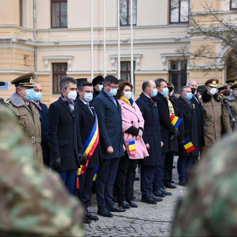 Așa s-a văzut România de la Iași!